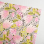 Pink Gigi Handmade Wrapping Paper Rolls Set of 2