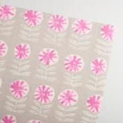 Pink Ida Handmade Wrapping Paper Rolls Set of 2