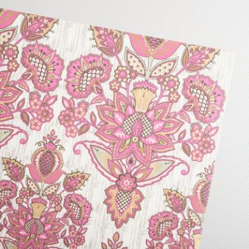 Pink Octavia Handmade Wrapping Paper Rolls Set of 2