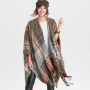 Warm Plaid Wrap