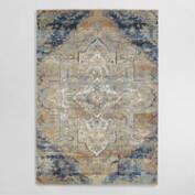 Multicolor Empire Medallion Area Rug