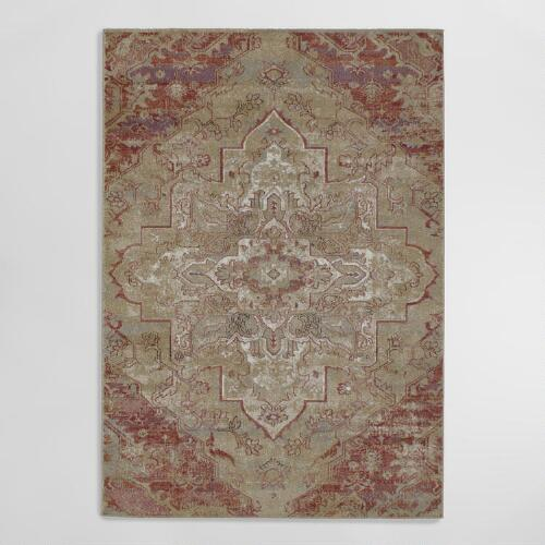 Multicolor Romantic Mystique Area Rug