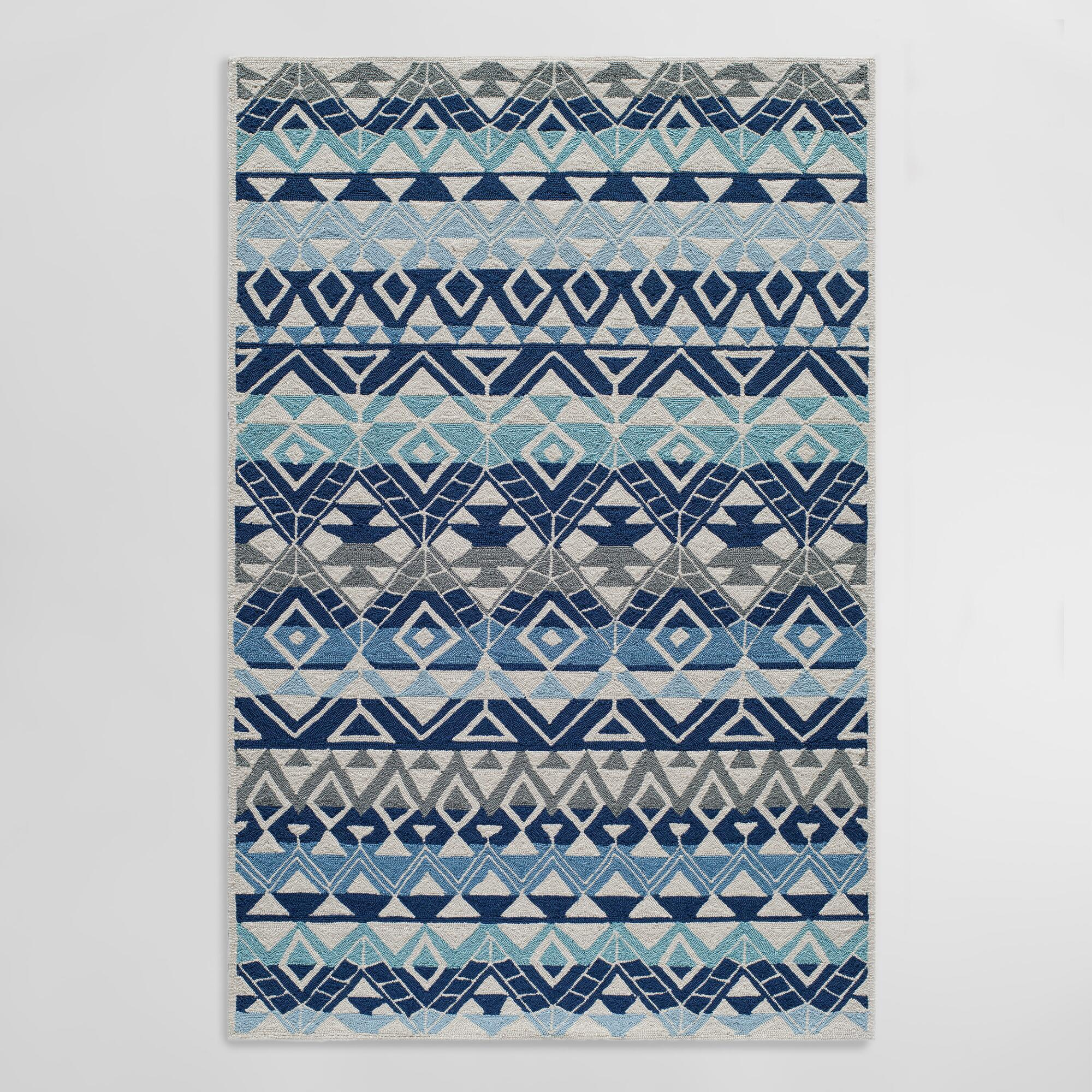 Blue Andersons Indoor Outdoor Area Rug | World Market - photo#30