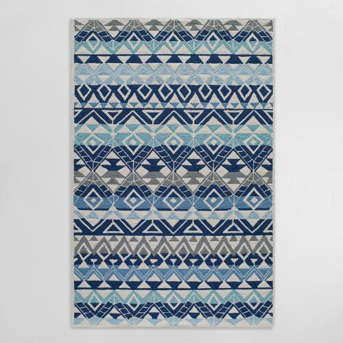 Blue Andersons Indoor Outdoor Area Rug
