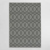 Charcoal Crystal Indoor Outdoor Area Rug