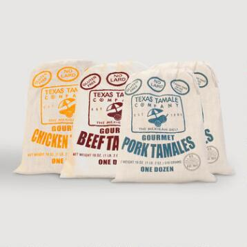 Texas Tamale Meat Lovers A La Carte Sampler 48 Count