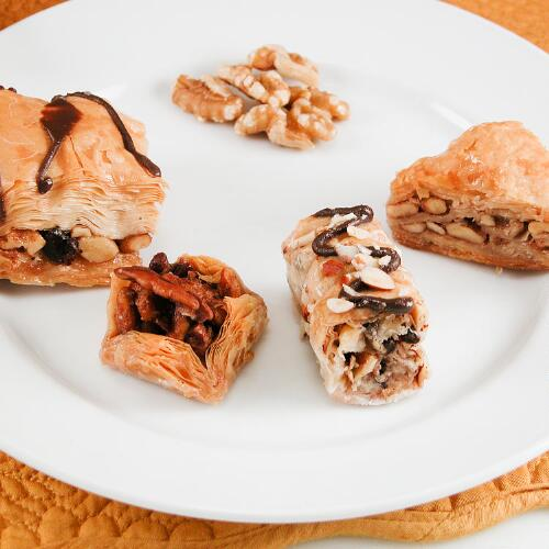 Gourmet Baklava Assortment 50 Count
