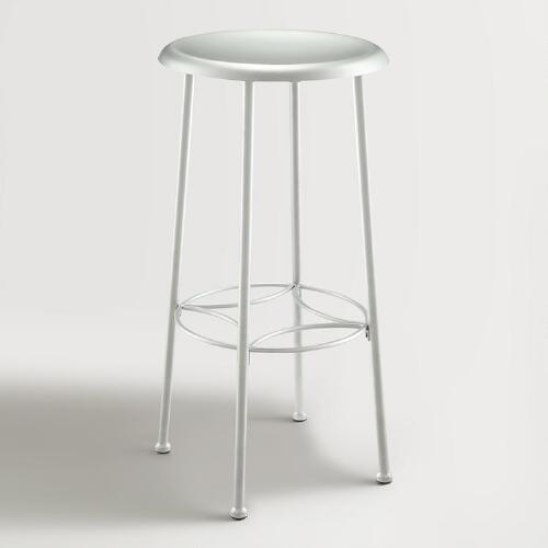 Chrome Gylnis Barstool