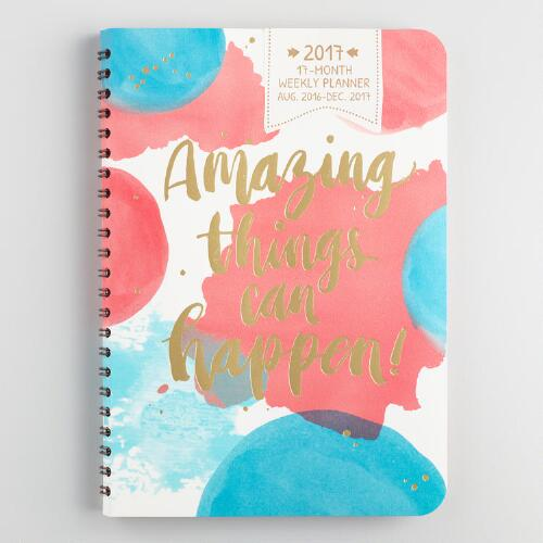 Amazing Things Can Happen Weekly Planner