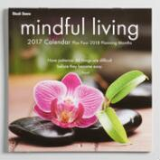 Mindful  Living Mini Wall Calendar