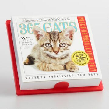 365 Cats Page A Day Calendar