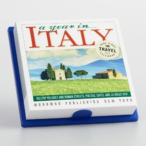 365 Days in Italy Page A Day Calendar