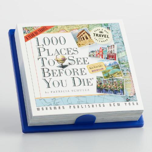 1,000 Places to See Before You Die Mini Wall Calendar