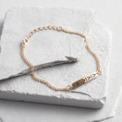 Delicate Gold Bar Bracelet