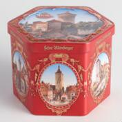 Wicklein Lubkuchen Hexagonal Cookie Tin