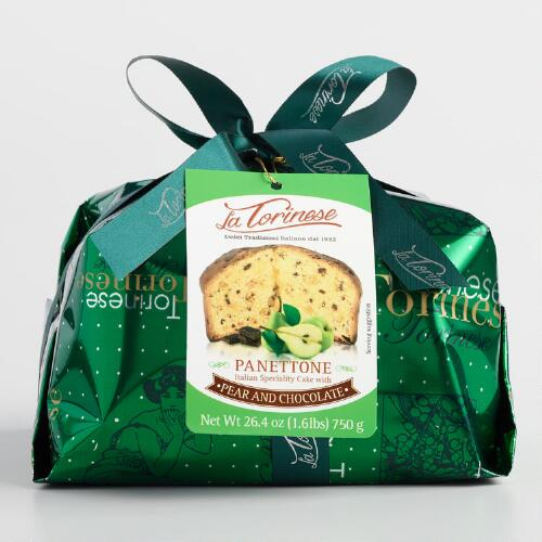 Torinese Pear and Chocolate Panettone