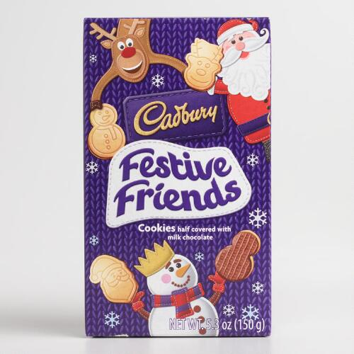 Cadbury Festive Friends Cookies
