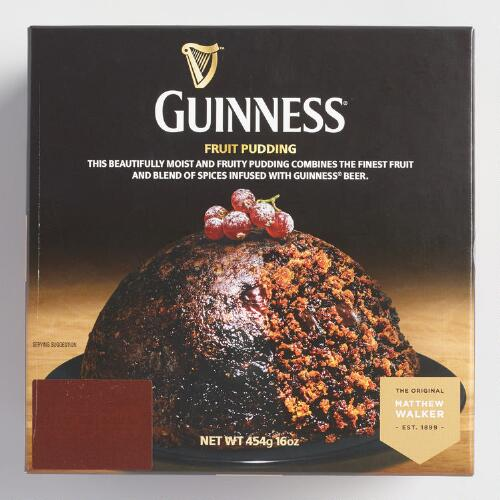 Guinness Fruit Pudding