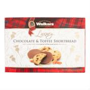 Walkers Chocolate Toffee Shortbread Cookies