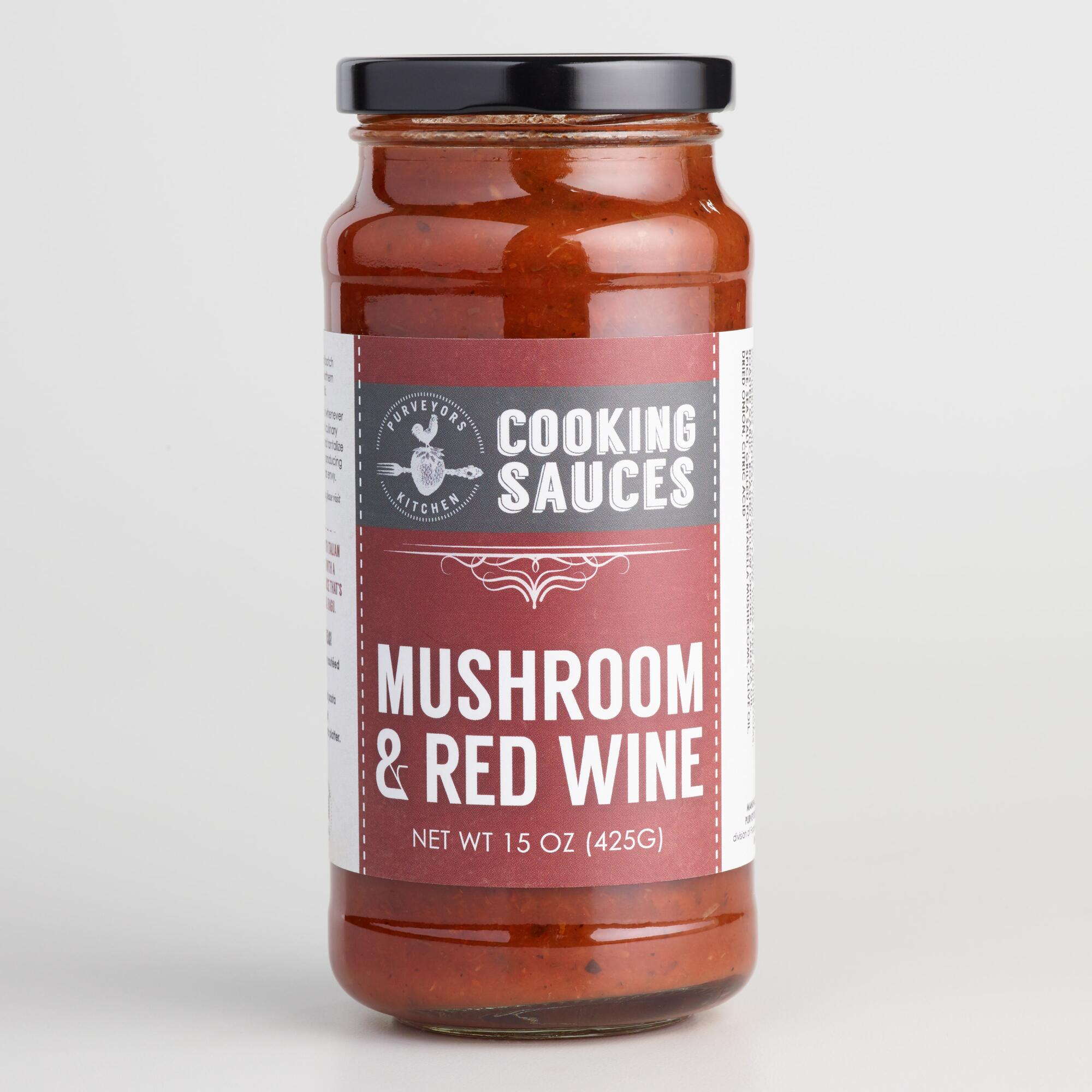 Purveyors Kitchen Mushroom and Red Wine Simmer Sauce | World Market