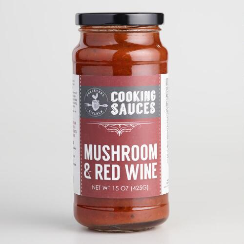 Purveyors Kitchen Mushroom and Red Wine Simmer Sauce