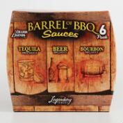 Brazos Barrel of BBQ Sauces 6 pack