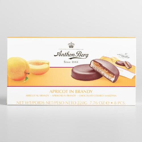 Anthon Berg Apricot in Brandy Chocolates