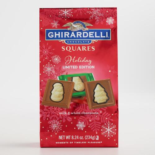 Ghirardelli Holiday Impressions Chocolate Squares