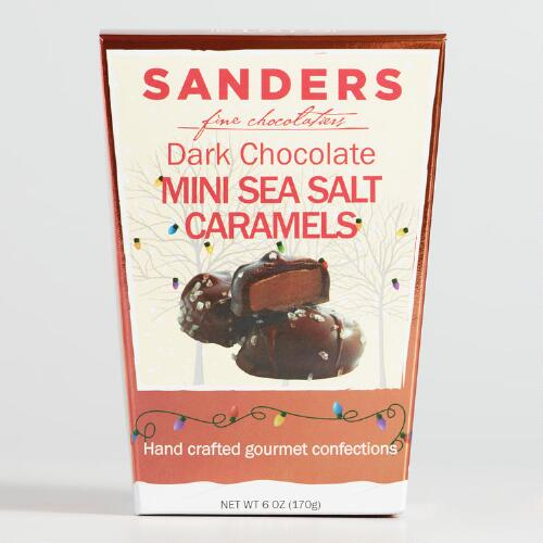 Sanders Mini Dark Chocolate Sea Salt Caramels