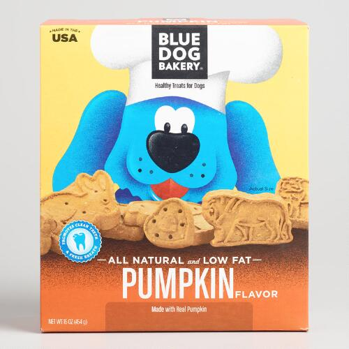 Blue Dog Pumpkin Dog Biscuits