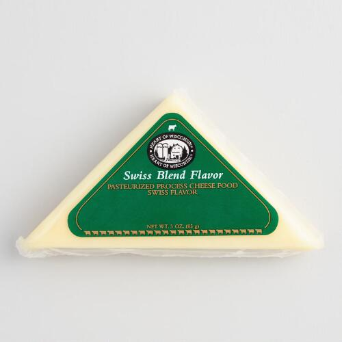Mille Lacs Swiss Blend Cheese Wedge