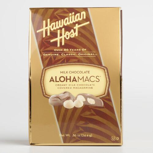 Hawaiian Host Milk Chocolate Macadamia Nuts