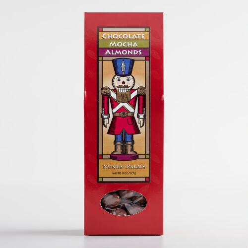 Nutcracker Chocolate Mocha Almonds