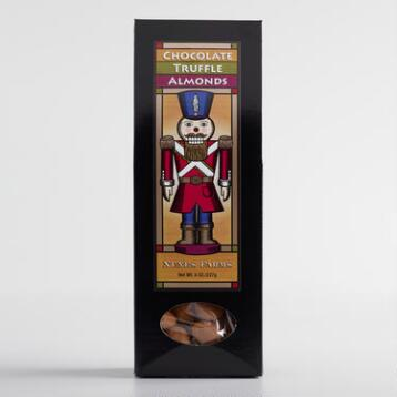 Nutcracker Chocolate Truffle Almonds