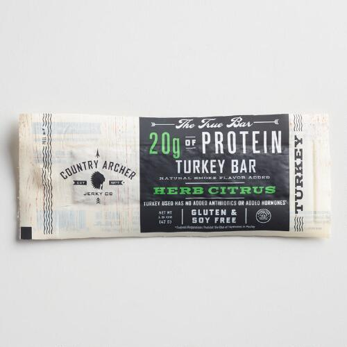 Country Archer Herbed Citrus Protein Bar