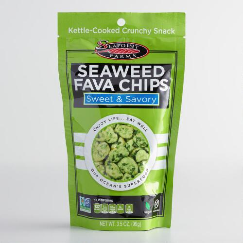 Seapoint Farms Seaweed Fava Chips