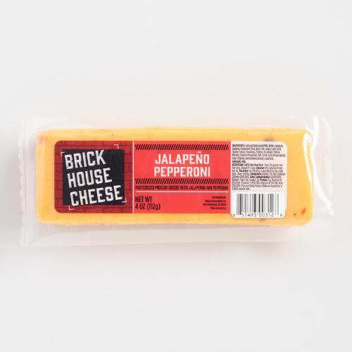 Brick House Jalapeno Pepperoni Cheese