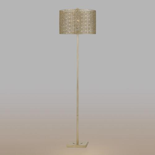 Silver Filigree Olivia Floor Lamp