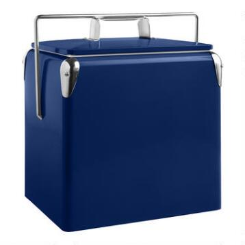 Royal Blue Retro Drink Cooler