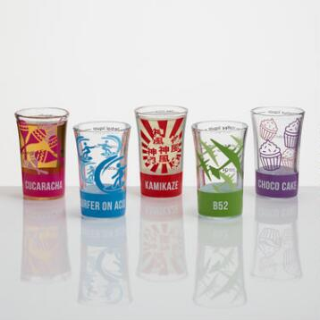 Easy Shots Shot Glasses Set of 5