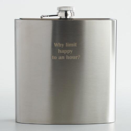 Happy Hour Giant Flask