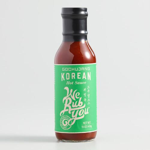 We Rub You Gochujang Korean Hot Sauce