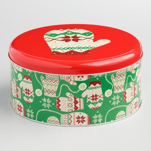 Large Wild and Jolly Baking Tin
