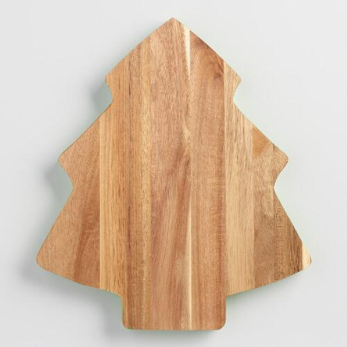 Green Wood Tree Cutting Board