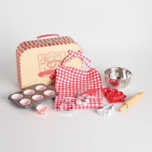 Beginner Baking Set Suitcase