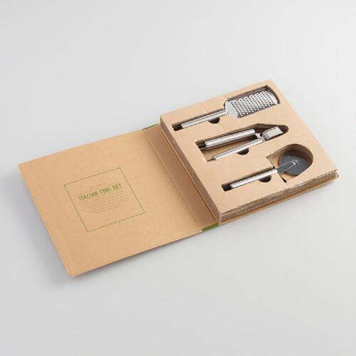 Gourmet Italian Tools Hostess Gift Set 3 Piece