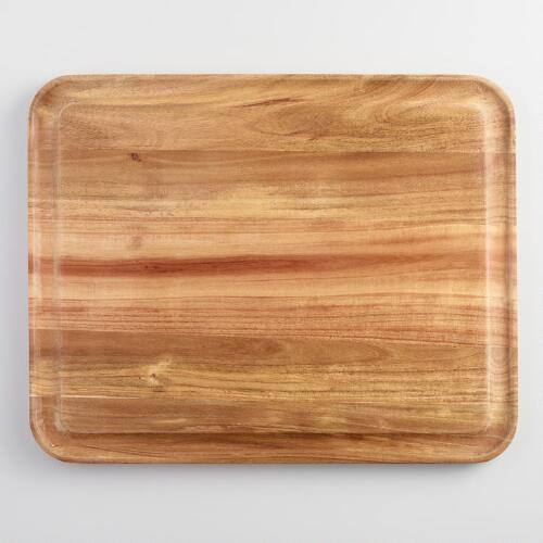 Acacia Wood Trencher Cutting Board