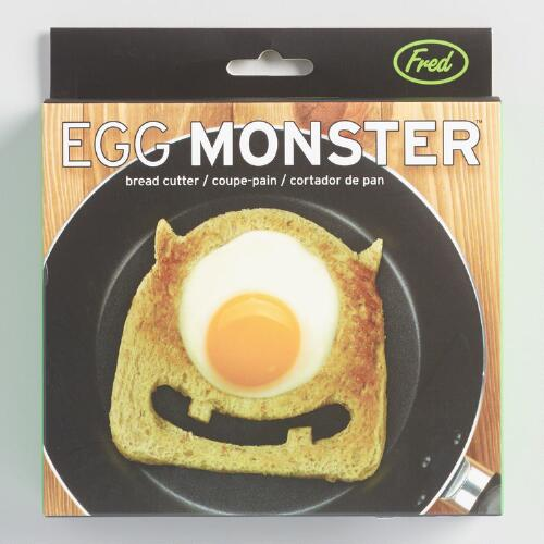 Fred & Friends Egg Monster Bread Cutter