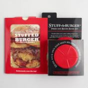 Stuff a Burger Press and Recipe Book Kit