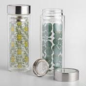 Steffi Floral and Tile Tea Infuser Carafes Set of 2